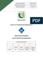 Presupuesto Economico - MultiServicios Huanqui