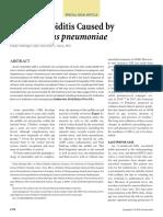 Acute Mastoiditis Caused by Streptococcus Pneumoniae