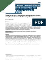 MELHADO_ Vitrine Do Desejo Masculinidades e Visibilidade Homoerótica Nas Mídias Digitais de Busca de Parceiros Online