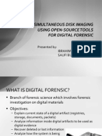 USING OSS for DIGITAL FORENSIC