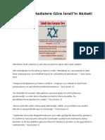 Kuran'a Ve Hadislere Göre İsrail'in Akıbeti Ve Sonu