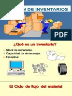 Gestión y Funciones Del Inventario