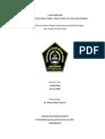 Laporan Kasus Fr Kolum Femur Dextra FIX