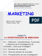 Marketing-Cap.3a,Investigación de Mercados