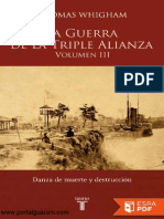 La Guerra de La Triple Alianza - Volumen III - Thomas Whigham - PortalGuarani