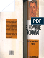 Andrea Giardina y otros. El hombre Romano - Capítulos El Ciudadano y El Político - El Sacerdote