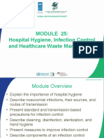 Module 25 Hospital Hygiene Infection Control and HCWM_English