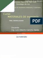 Materiales de Ingenieria Generalidades (1)