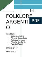 El Folklore Argentino