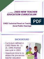 TPTE Curriculum