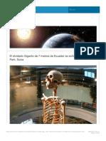 Esqueleto de 7 Metros en Ecuador