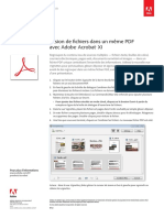 Adobe Acrobat Xi Merge PDF Files Tutorial