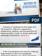 1 - The Nature of Statistics