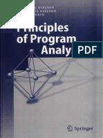 Principles of Program Analysis