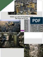 T 4 Las Ciudades en El Mundo Actual