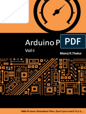 Manoj Thakur - Arduino Projects Vol-I_ With Proteus