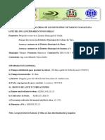Informe Analítico de Las Obras TOYO