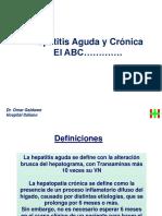 Hepatitis Aguda y Cronica