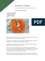 Mermelada de Naranja y Calabaza