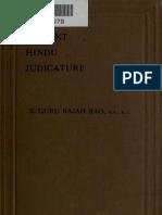 Ancient Hindu Judicature
