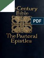 The Century Bible - Epístolas Pastorais (Timóteo e Tito) 1910