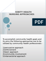 community health nursing approaches