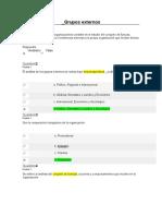 Grupos Externos Evaluación 2da Unidad