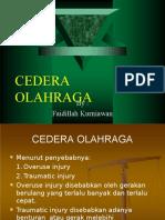 CEDERA OLAHRAGA