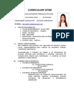 Curriculum Vitae Roxana E.