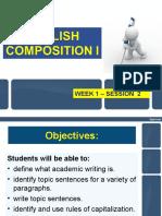 Eppt-nglish Composition i - Week 2