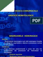 Urgente Hematologice -Curs. Varianta II Ppt