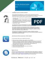 2015_Charla Semanal N° 33 Reporte de Incidentes Ambientales