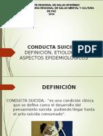 SUICIDIO DEFINICION