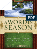 Word in Season Volume 2, A