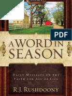Word in Season 4, A