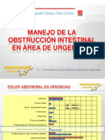 Obstruccion Intestinal