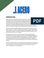 Aceros,Perfiles y Comercializacion Del Acero,Luis Lenin Lines Aguilar