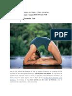 Lesiones Más Comunes en Yoga y Cómo Evitarlas