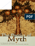Introduction of Poetics of  Myth