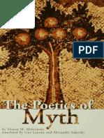 Introduction of Poetics of  Myth
