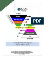 Definiciones en El Marco de Trabajo Del IDDSI de Líquidos y Sólidos