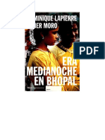 Dominique Lapierre, Javier Moro - Era Medianoche En Bhopal-2.pdf