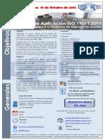 Curso ISO 19011 2011 Matamoros