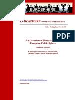 Eurosphere Working Paper 3 Barenreuter Etal