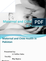185666765 Maternal and Child Health in The