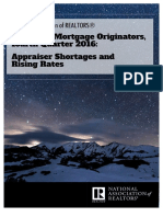 Survey of Mortgage Originators, Fourth Quarter 2016