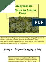 PhotosynthesisLight ReactionON