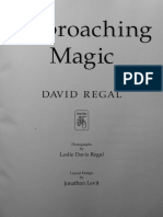 David Regal Approaching Magic