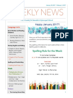 weekly newsletter- jan  30- feb  3