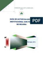 Sce-guia de Autoevaluacion Institucional Del Cenea